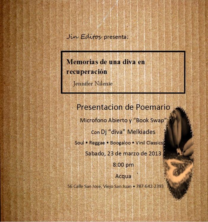Presentacion de Poemario